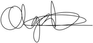 Olga nimikirjoitus